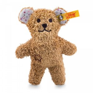 STEIFF MINI TEDDY BEAR WITH RUSTLING FOIL AND RATTLE
